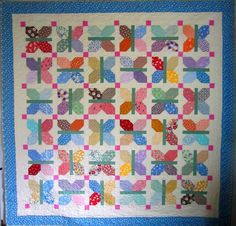 Looking for your next project? You're going to love Flutter Vintage Quilt Pattern by designer Elena McDowell.