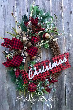 Grapevine Christmas, Country Christmas, Holiday Wreaths, Holiday Crafts, Christmas Holidays, Holiday Decor, Christmas Ideas, Merry Christmas, Advent