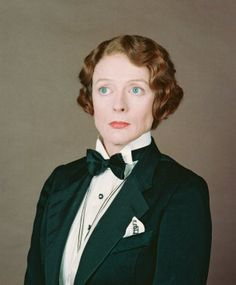Maggie Smith, looking dapper in Death on the Nile.
