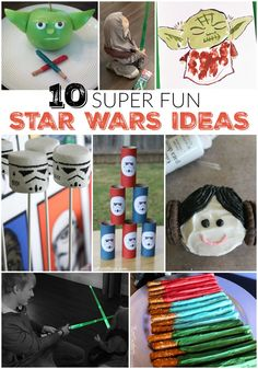 Star wars. Star wars. Star wars. 10 super fun activities and ideas your kids will love!  #TRUBatteriesIncluded #ad