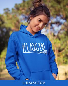 Gear up for hoodie season with our cozy lacrosse sweatshirts, perfect for fall and winter! Girls Lacrosse, Top Girls, Our Girl, Hooded Sweatshirts, Hoods, Cozy, Winter, Sweaters, How To Wear