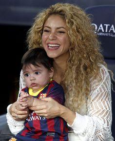 Shakira y Milan, la suerte de Piqué en el Camp Nou