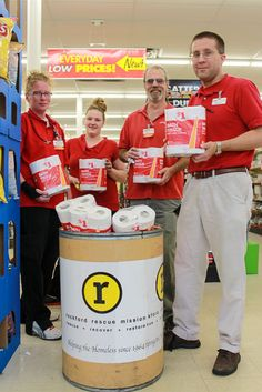 A local Family Dollar store has issued a tissue challenge for other area businesses to help the Mission.