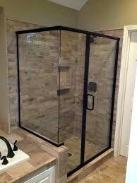 Image Result For Frameless Vs Framed Shower Framed Shower Farmhouse Shower Framed Shower Door