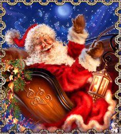 Merry Christmas: Santa Claus