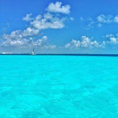 Peaceful, Beautiful,  Ocean, Sea, Sky, Lovely Blue.