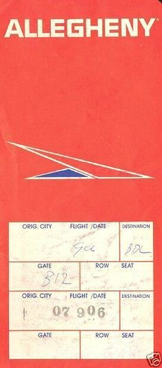 136 best Throwback Airline Ticket Jackets images on Pinterest | Air ...