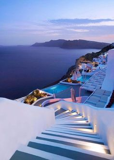 Travel Discover Wonderful Places: Blue hours in Santorini - Greece Picture by . Dream Vacations Vacation Spots Vacation Travel Travel Money Budget Travel Travel Tips Wonderful Places Beautiful Places Beautiful Hotels Best Honeymoon Destinations, Vacation Places, Dream Vacations, Travel Destinations, Honeymoon Ideas, Greece Destinations, Vacation Travel, Dream Vacation Spots, Honeymoon Packages