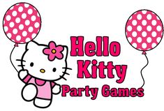 DIY Hello Kitty Party Games!