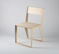 PUNAR plywood stool on Behance