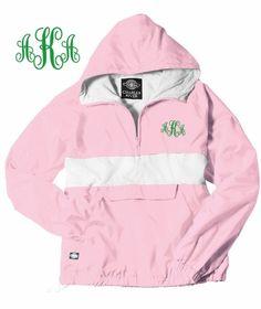 Alpha Kappa Alpha Monogrammed Anorak- Greek Clothing and Merchandise - Greek Gear®