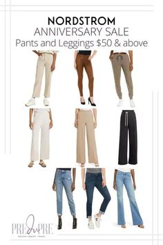 Great finds at the Nordstrom Anniversary Sale. I've rounded up my top picks in pants & leggings above $50. Hot Summer Outfits, Fall Outfits, Skinny Jeans With Boots, Fall Pants, Denim Joggers, Fall Lookbook, Warm Weather Outfits, Nordstrom Anniversary Sale, Weekend Wear