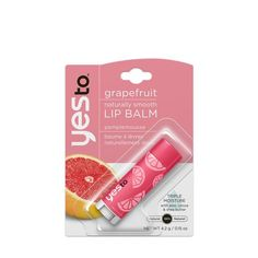 Yes to...an awesome new lip balm with a refreshing flavor that fits just about anywhere!