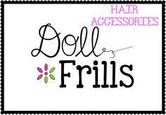 "Do you LOVE to accessories your 18"" dolls??  This board has hair accessories and hats to fit!  Check out all the cuteness!"