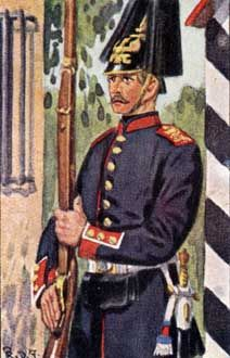 Preußische Infanterie: III. und IV. Armee-Korps