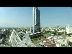 Riu Plaza Guadalajara - Hotels in Guadalajara Mexico - 360-degree video with drone - YouTube