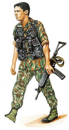 RECCES - SADF-South Africa Defence Force - pin by Paolo Marzioli