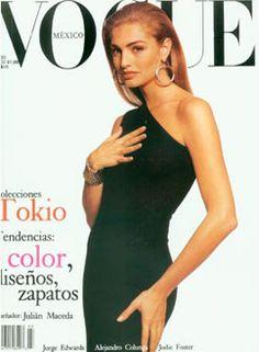 Michaela Bercu for Vogue México Vogue Magazine Covers, Fashion Magazine Cover, Vogue Covers, Elle Magazine, Michaela Bercu, Fashion Models, Fashion Beauty, 1990s Supermodels, 80s And 90s Fashion