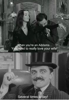 Addams Family Morticia And Gomez Quotes - Album on quotesvil.com