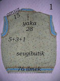 Knitting For Men Knitting Stitches, Knitting Patterns, Crochet Patterns, Baby Vest, Baby Cardigan, Crochet Baby, Knit Crochet, Baby Boy Knitting, Viking Tattoo Design