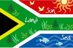Members from South Africa, a brand new board for the gardens and natural wonders of your country. To join the 'South Africa' board, send me a message. Africa Craft, Africa Decor, South African Flag, South Afrika, Flag Art, Cape Town South Africa, Flag Colors, Thinking Day, Badges