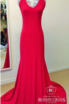 Plain Jersey Debs Dress made At Roisin Cross Silks Dublin Silk Organza, Silk Crepe, Silk Chiffon, Silk Satin, Deb Dresses, Formal Dresses, Dressmaking, Dublin, Velvet
