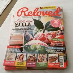 Next issue of Reloved magazine has just arrived at the shop!