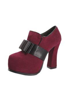 Elegant Bowknot Embellished Heels OASAP.com