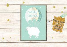 Fliegendes Schaf Poster