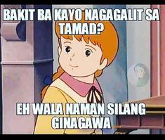 Pinoy Jokes Tagalog, Hugot Quotes Tagalog, Memes Pinoy, Tagalog Quotes Hugot Funny, Pinoy Quotes, Filipino Funny, Filipino Quotes, Funny Tom, Funny Jokes