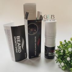 Original Beard growth spray 60ml beard grow stimulator 100% natural accelerate beard growth oil facial hair grower