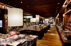 BOOKSTORES! T Site bookstore by Klein Dytham architecture, Daikanyama   Japan store design