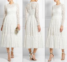 Kate Royal Windsor Queen Birthday Pageant White Cottton Blend Lace D G Dolce Gabbana Dress Net a porter May 15 2016