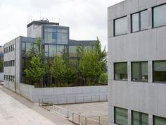 Institutos de Investigación no Campus Sur | Manuel Gallego Jorreto | Santiago de Compostela (1992 - 2000) | Foto: Andrés Fraga