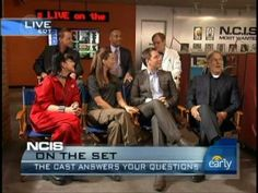NCIS Cast Answers Tweets