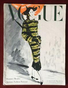 Vogue Magazine ~ July 15, 1947 ~ Willaumez
