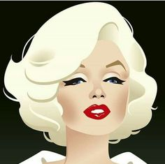 Marilyn Monroe In Art: Something's Got To Give and it certainly does with this m. - Marilyn Monroe In Art: Something's Got To Give and it certainly does with this most recent piece - Marilyn Monroe Kunst, Estilo Marilyn Monroe, Marilyn Monroe Drawing, Marilyn Monroe Artwork, Pop Art Marilyn, Pop Art Girl, Up Girl, Girl Face, Painting Art