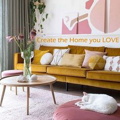 Create the Home you Love in 3 Easy Step within your budget with these TOP Interior Designer TIPS and SKILLS 😉🌷💗 #interiordesignideas #interiors #homemakeover #homerenovation #interiordesignideas #diyhomedecor #diy #homedecorideas #interiorinspiration