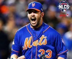Matt Harvey - wins game 1 NLCS vs Chicago Cubs - New York Mets