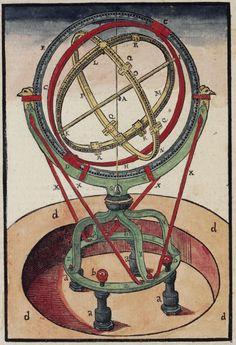 Tycho Brahe, The zodiacal armillary sphere (1581)