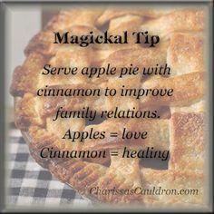 Magickal Tip - Cinnamon Apple Pie – Charissa's Cauldron