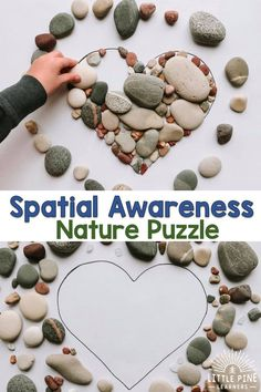 Work on Spacial Awareness With This Simple Nature Shape Puzzle Little Pine Learners Forest School Activities, Nature Activities, Toddler Activities, Kids Nature Crafts, Nature For Kids, Kids Outdoor Activities, Nature Nature, Home Learning, Preschool Learning