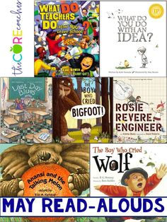Read-alouds for the end of the school year.