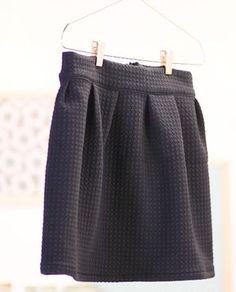 Tuto vidéo couture jupe   #tuto #tutoriel #mode #tendance #couture #sewing #tissus #fabrics #vêtements #femme #diy #doityourself
