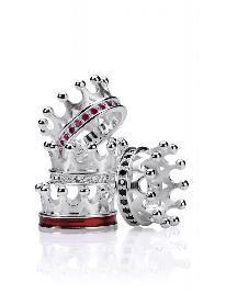 Märchenhafte Kronenringe aus Sterling Silber. In den Größen 52, 54, 56, 58 und 60.