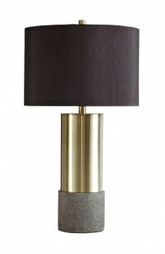"""TWO IN STOCK - Jacker Table Lamp: 15"""" W x 15"""" D x 27.25"""" H- Rent: $8; Buy: $48"""