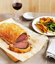 Australian Gourmet Traveller recipe for beef Wellington.