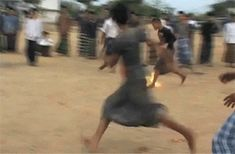 Flaming Soccer | 14 Unusual Sports You Should Be Paying Attention To << I have done this before