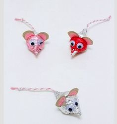 Valentines Mouse Kisses