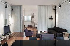 Brasil apartamento de diseño de planta abierta - DECOmyplace Noticias